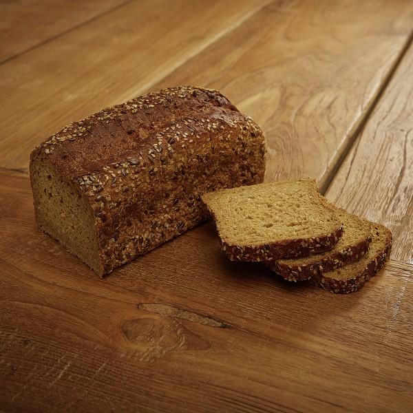 Kerniges Mais-Reis Brot, glutenfrei, laktosefrei, 400g geschnitten