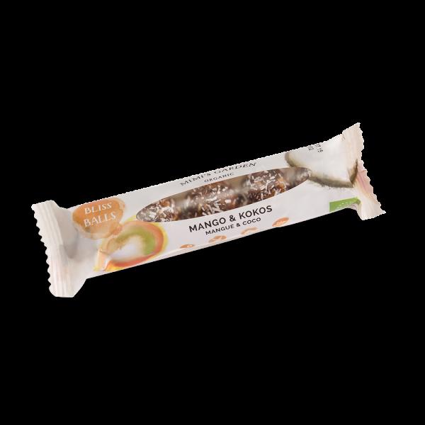 Bio-Dattelkugeln Mango & Kokos 50g