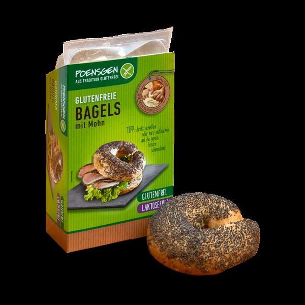 Bagels mit Mohn 2 x 75g glutenfrei / laktosefrei