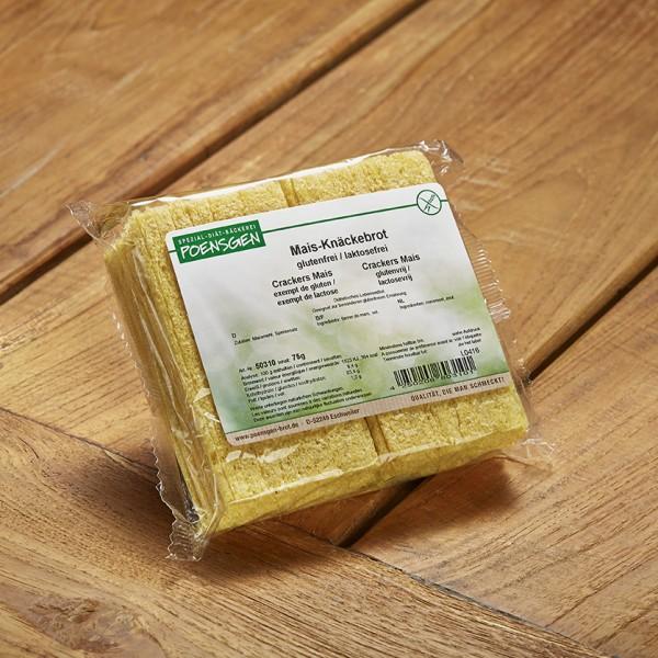 Mais-Knäckebrot glutenfrei 75g