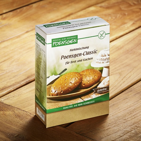 Poensgen-Classic glutenfrei 500g
