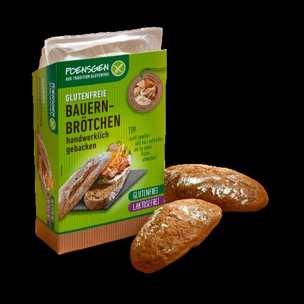 Bauernbrötchen glutenfrei, laktosefrei 150g
