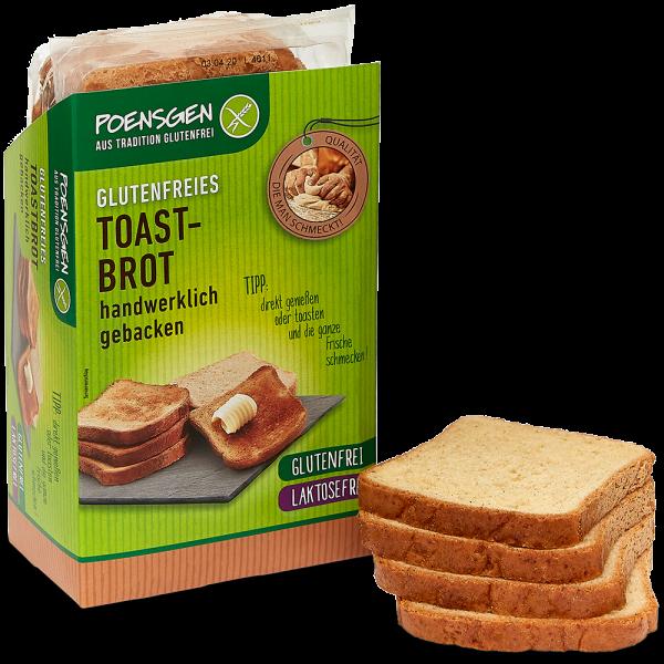 Toastbrot 400g, glutenfrei / laktosefrei