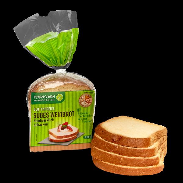 Süßes Weißbrot glutenfrei 400g
