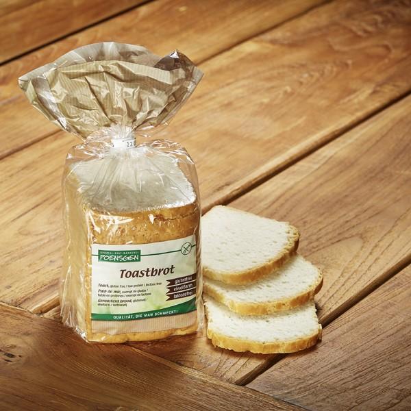 Toastbrot glutenfrei / laktosefrei / eiweißarm 400g