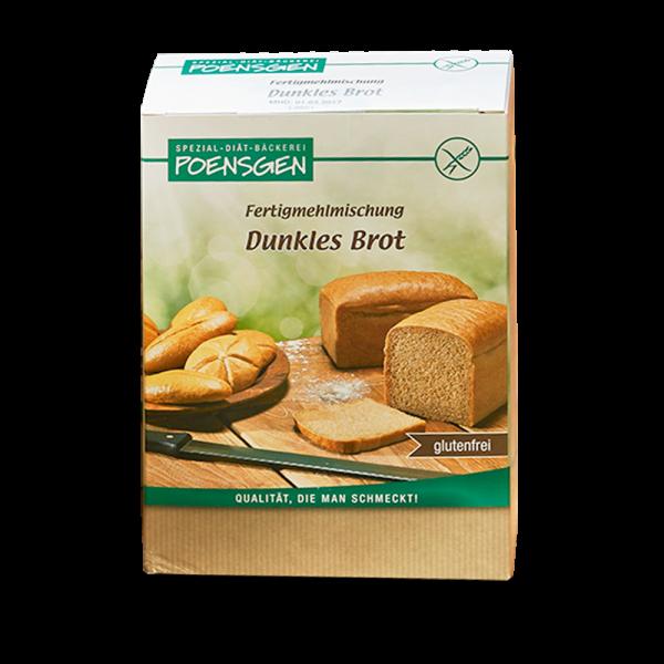 Dunkles Brot glutenfrei 6 x 500g Vorteilspack