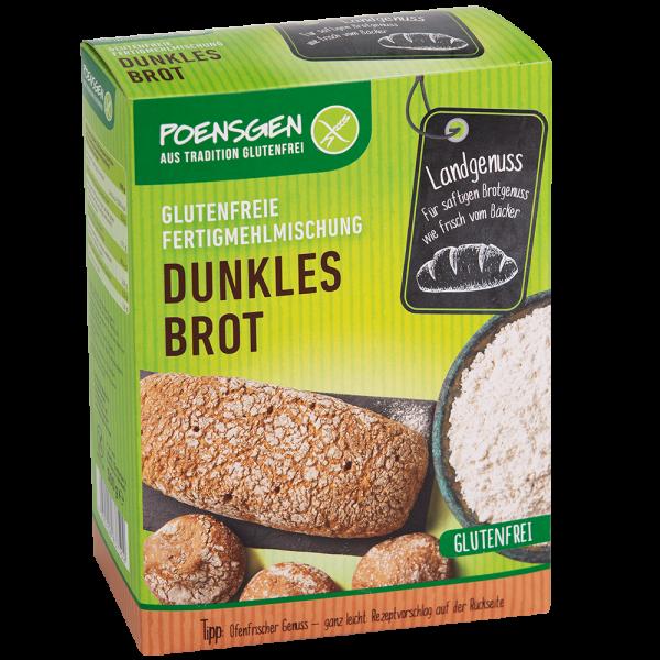 Dunkles Brot glutenfrei 500g