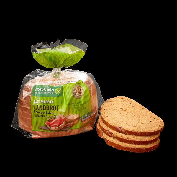 Landbrot glutenfrei / laktosefrei / eiweißarm 400g