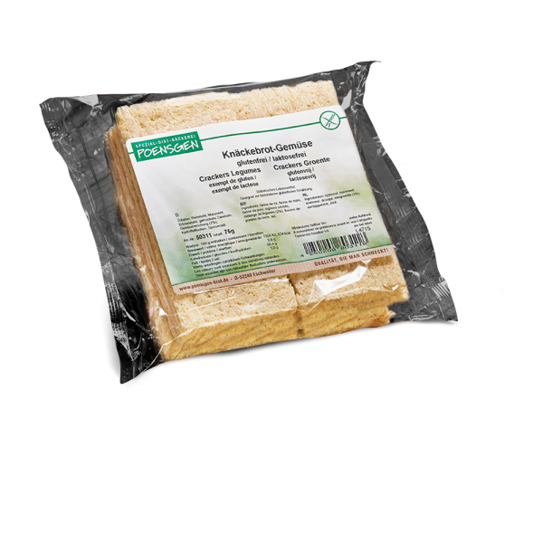 Knäckebrot-Gemüse glutenfrei 75g