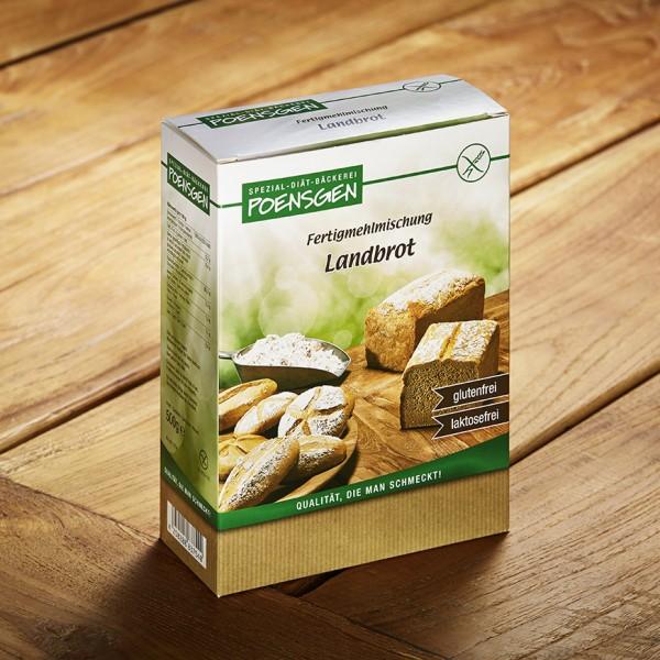 Landbrot glutenfrei / laktosefrei 500g
