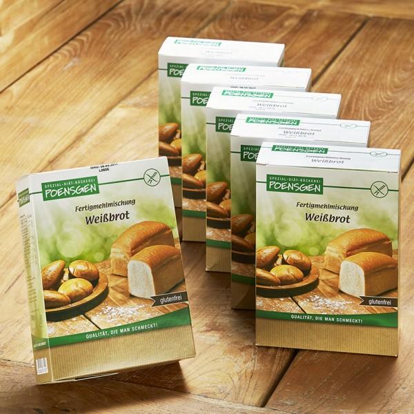 Weißbrot glutenfrei 6 x 500g Vorteilspack