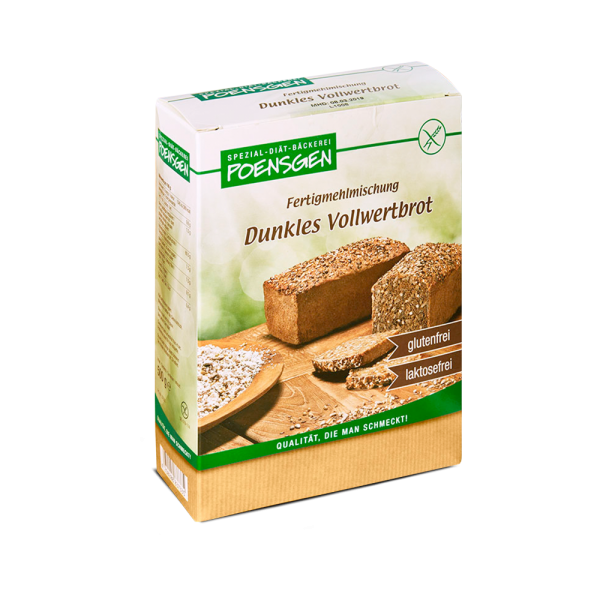 Vollwertbrot glutenfrei / laktosefrei 500g