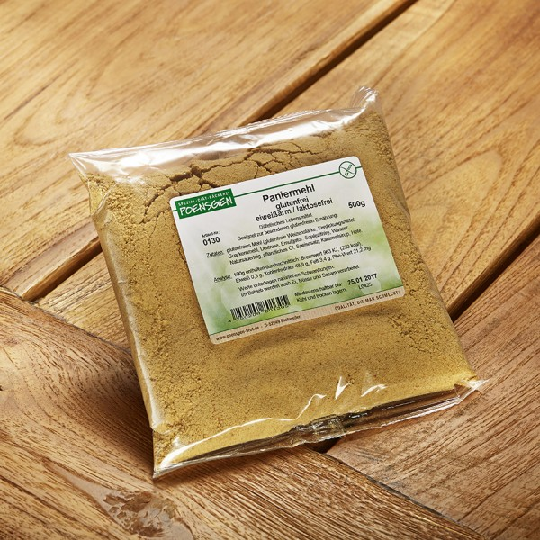 Paniermehl glutenfrei / laktosefrei / eiweißarm 500g
